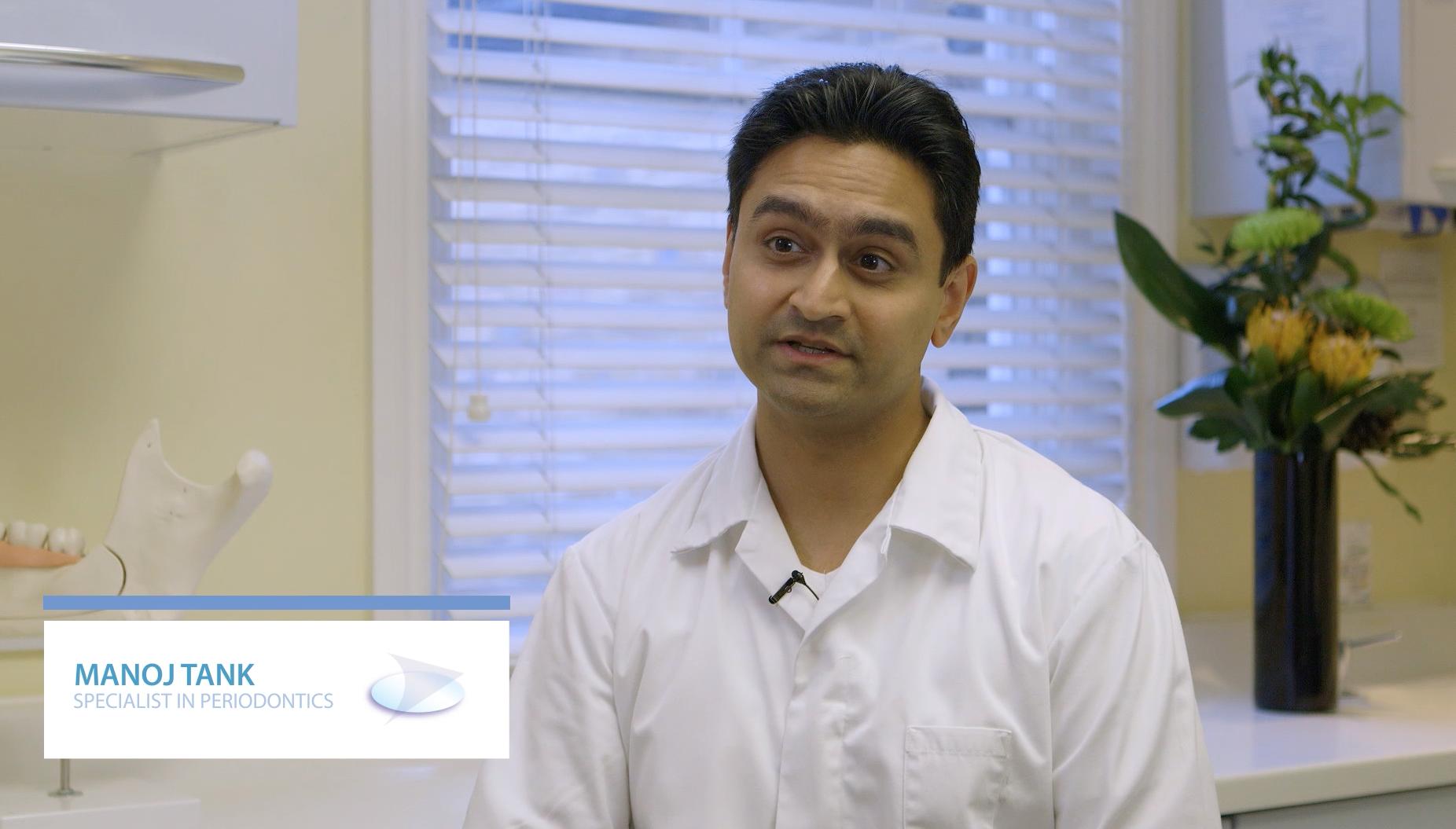 Manoj Tank, Specialist in periodontics, talks about gum health