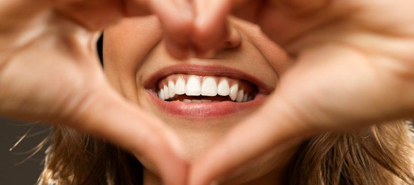 Smile in heart